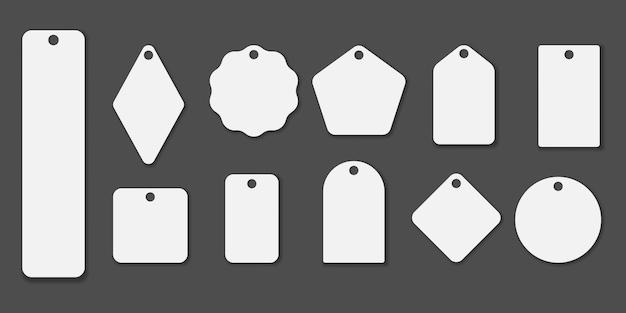 Um conjunto de ilustração de marcas diferentes