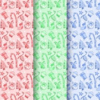 Um conjunto de padrões sem emenda para o natal