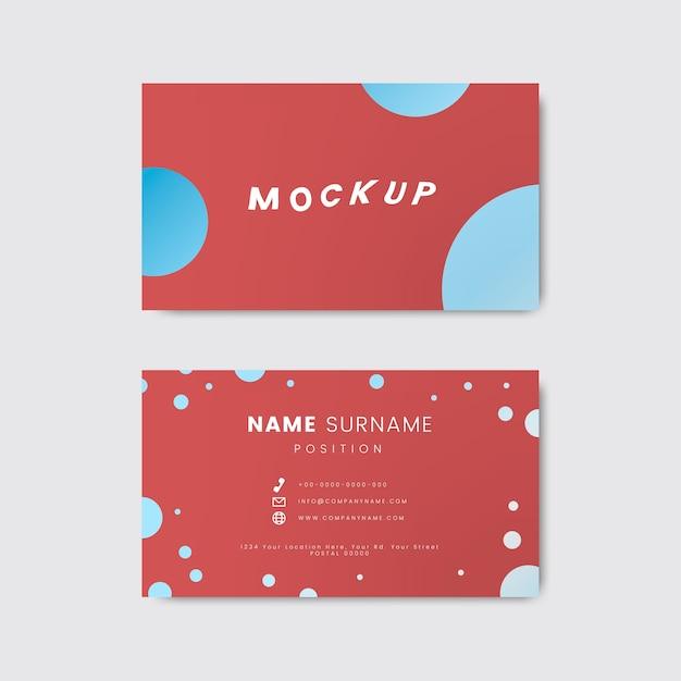 Um design de cartão retro criativo que caracteriza bolinhas