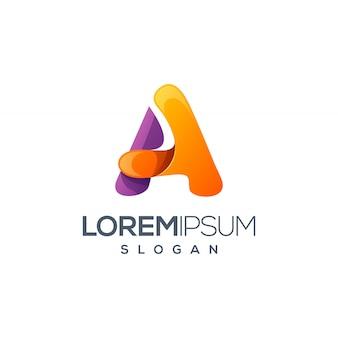 Um design de logotipo da carta