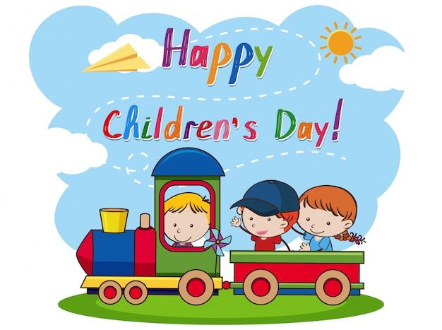 Um feliz dia das crianças