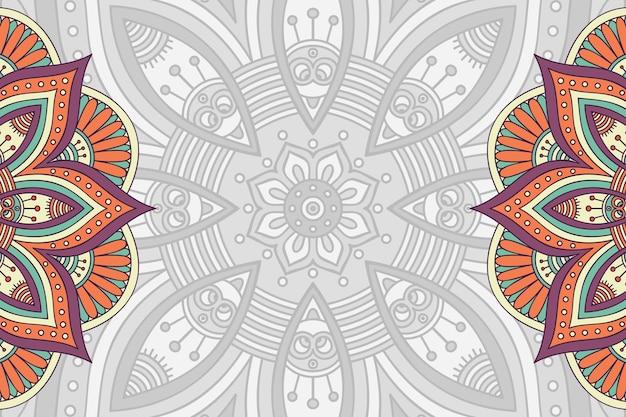 Um fundo de padrão geométrico simples de vetor colorido