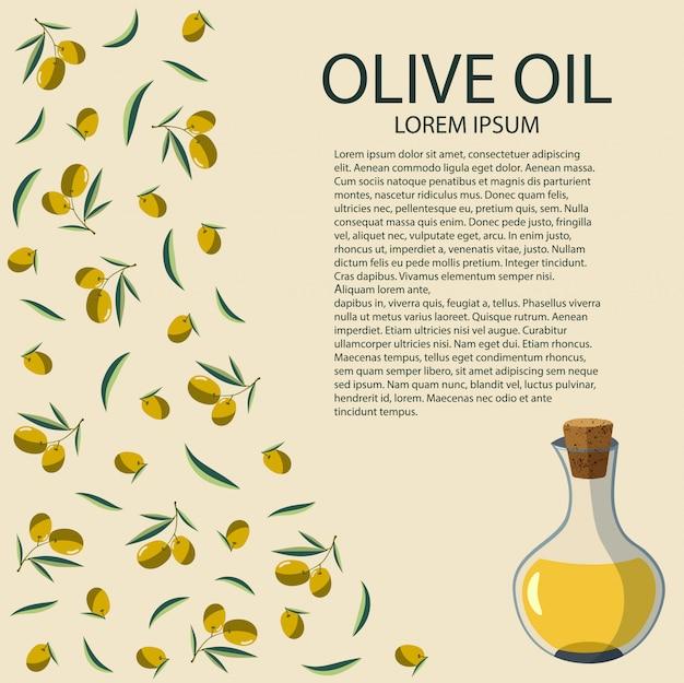 Um, garrafa, de, azeite oliva, branco