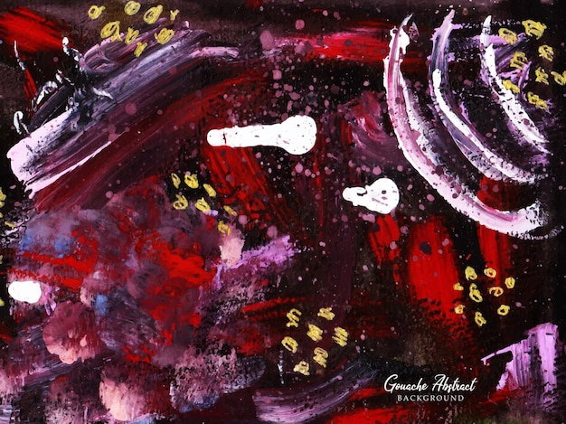 Um lindo fundo de pintura aquarela guache desenhado à mão