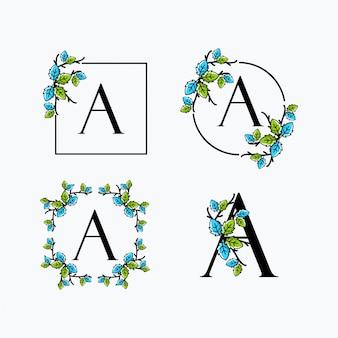 Um logotipo da folha