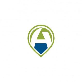 Um logotipo do pino