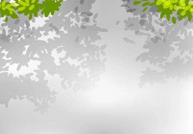 Um, natureza, folha, fundo