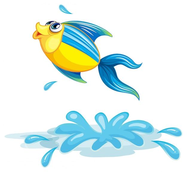 Um peixe no mar