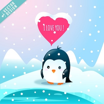 Um pinguim amante