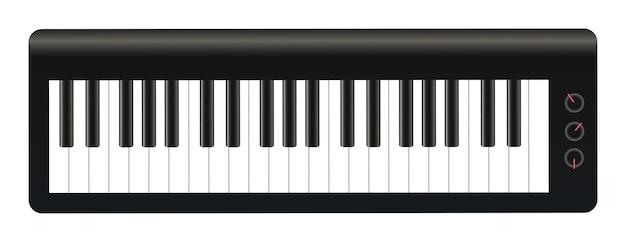 Um vetor de teclados eletrônicos