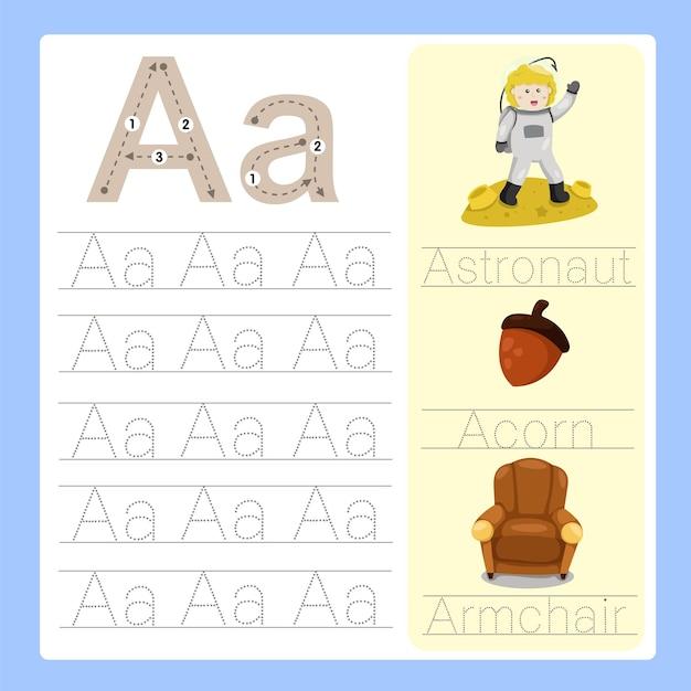 Um vocabulário de desenho animado