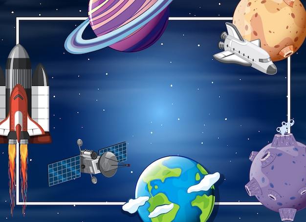 Uma borda de elemento espacial