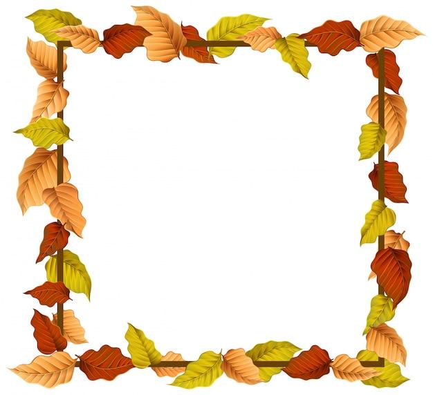 Uma borda de outono