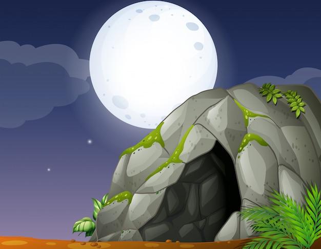 Uma caverna