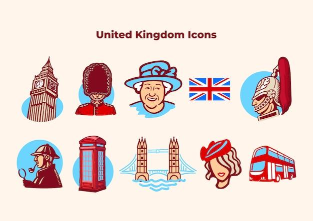 Uma coleção icônica de coisas britânicas