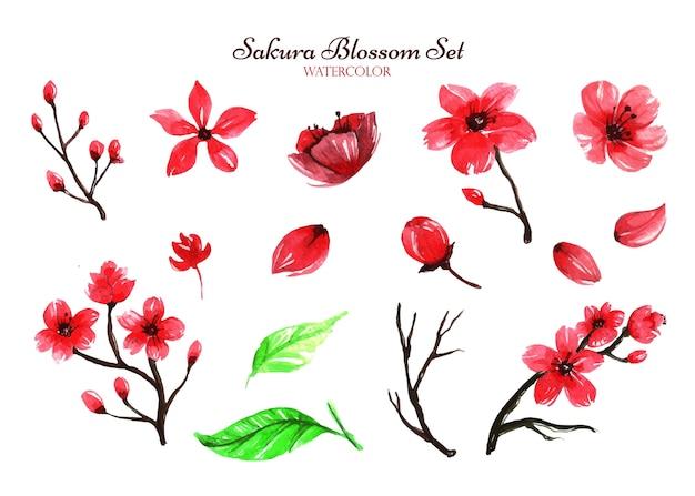 Uma coleção inspiradora de conjuntos de flores de sakura que podem ajudá-lo a ser criativo para suas obras de arte.