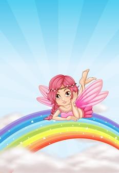 Uma fada no arco-íris