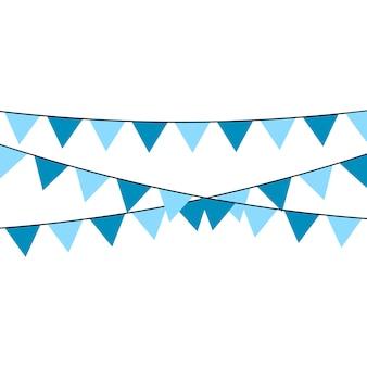 Uma fita do feriado com muitas matiz de cores diferentes é descrita em um fundo branco.