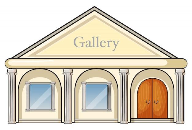 Uma galeria