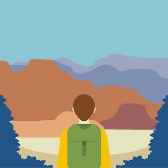 Uma ilustração do explorador
