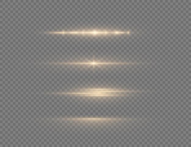 Uma luz amarela brilhante explode em um fundo transparente partículas de poeira mágicas cintilantes estrela brilhante flash brilhante de sol brilhante transparente vector cintila para centralizar um flash brilhante