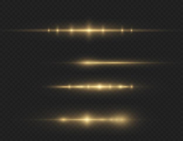 Uma luz amarela brilhante explode. partículas de poeira mágica cintilantes. estrela brilhante. sol brilhante transparente, flash brilhante.