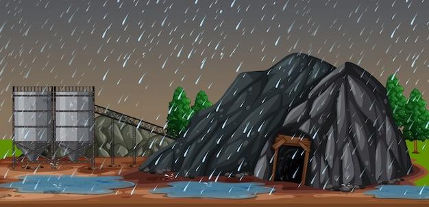 Uma noite chuvosa na minha
