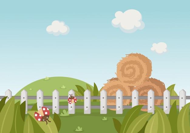 Uma paisagem rural