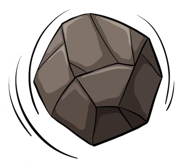 Uma pedra rolando