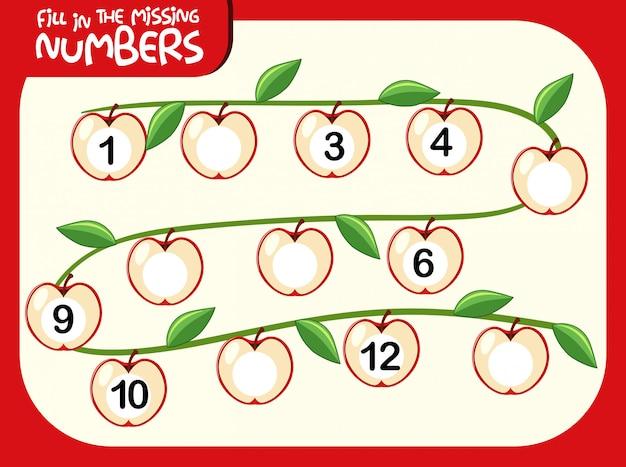 Uma planilha matemática numérica
