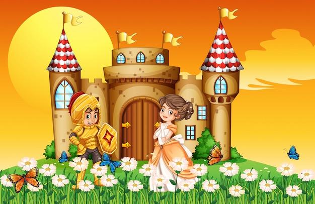 Uma princesa e um cavaleiro