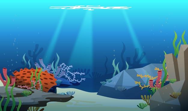 Under the sea - plano de fundo para videoconferência