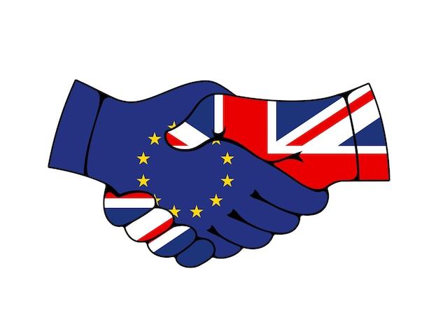 União europeia e acordo comercial e comercial do reino unido
