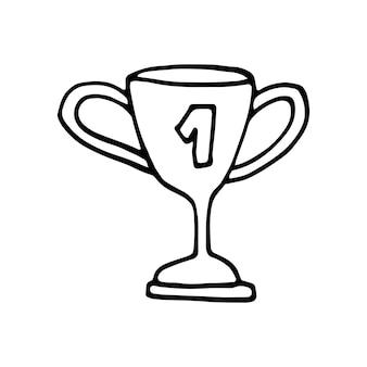 Único elemento de sucesso no conjunto de negócios de doodle. mão-extraídas ilustração vetorial para cartões, cartazes, adesivos e design profissional.
