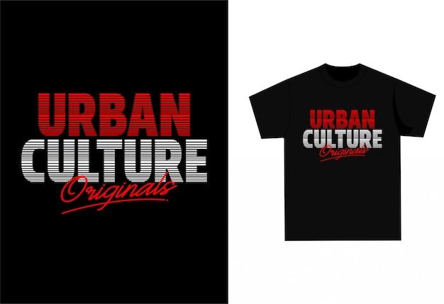 Urban culture - camiseta gráfica para impressão