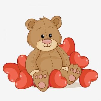 Ursinho apaixonado