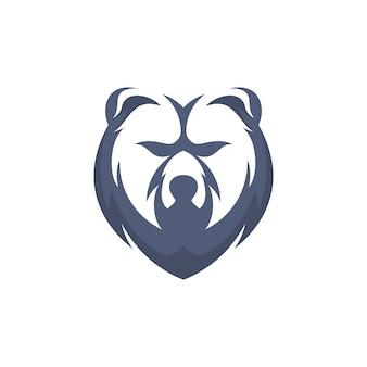 Urso de cabeça simples