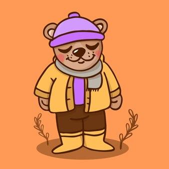 Urso de outono