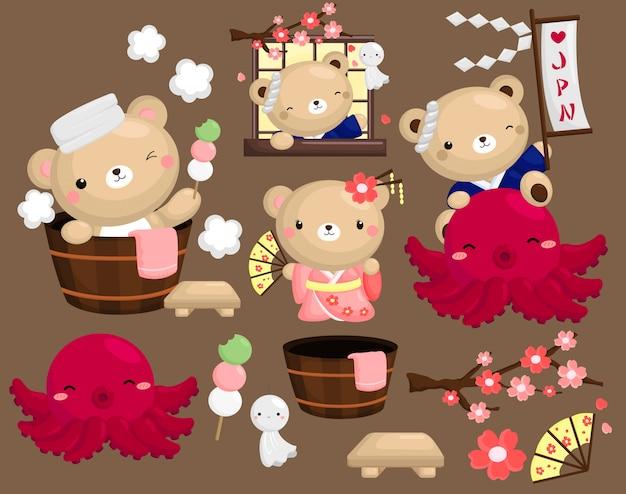 Urso do japão