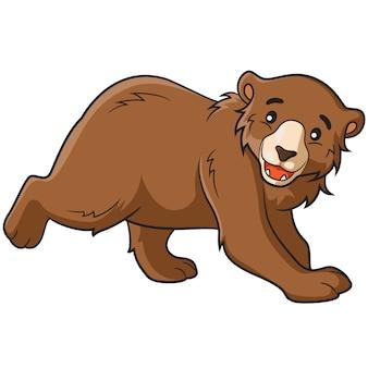 Urso dos desenhos animados