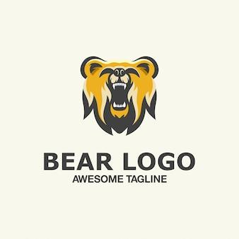 Urso esport logotipo impressionante inspiração