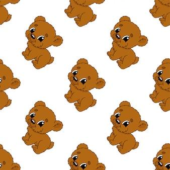 Urso feliz.