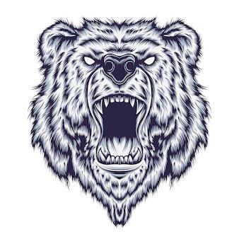 Urso ilustração