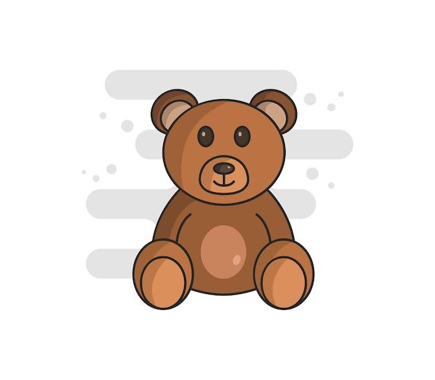 Urso ilustrado