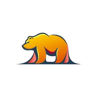 Urso logotipo moderno