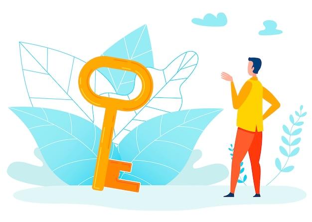 Usando a ilustração de metáfora de oportunidades