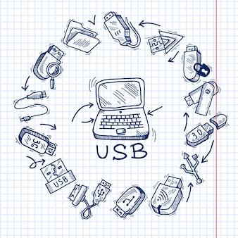 Usb e computador
