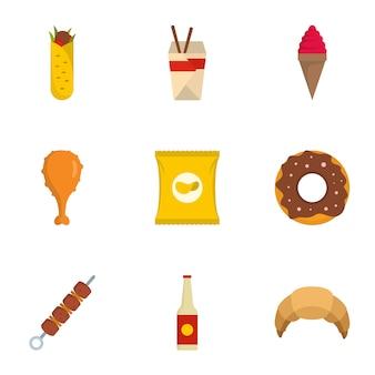 Use o conjunto de ícones, estilo simples