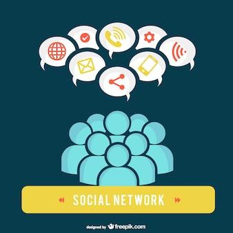 Usuários da rede social