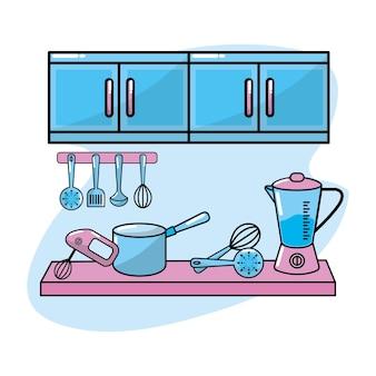Utensílio de cozinha tradicional objeto